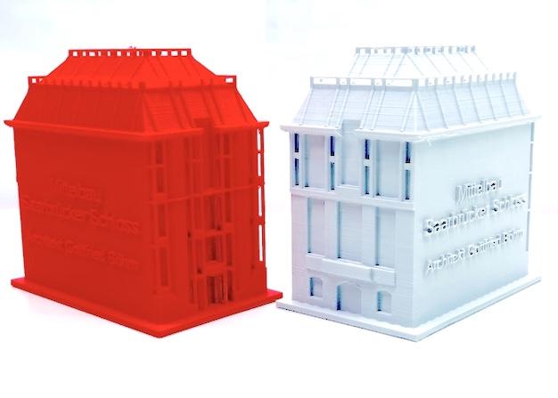 Schloss als fertiger 3D Druck