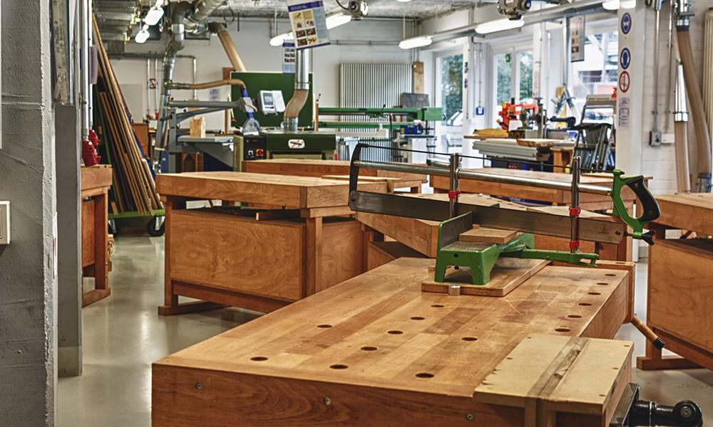 Holzwerkstatt des TGBBZ1